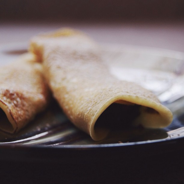 Lemon Blueberry Crepes & Lemon Curd Recipe from Abundantly More