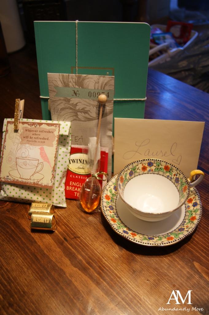 The Enchanting Rose Teacup Exchange